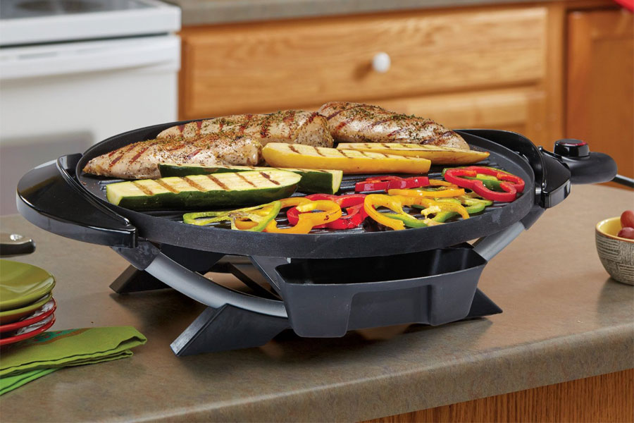 Tabletop Electric Grill Reviews Table Decorating Ideas
