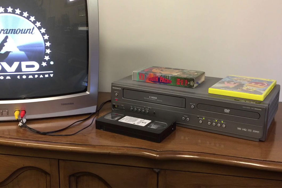 DVD VCR Combo 5