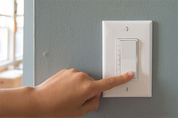 Z-Wave Dimmer at Wall