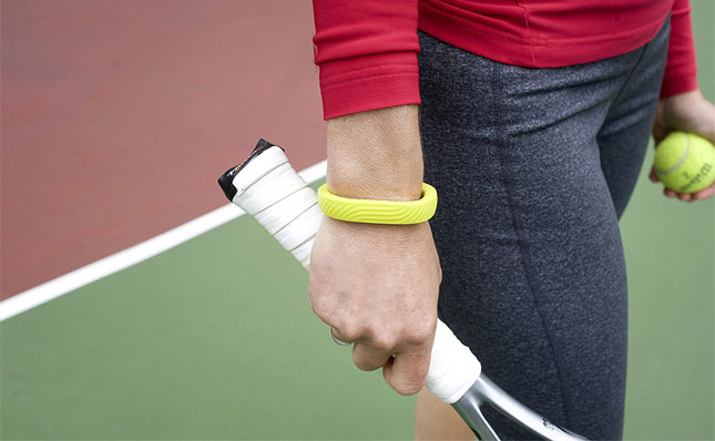 Fitness Tracker while Playing Tennis