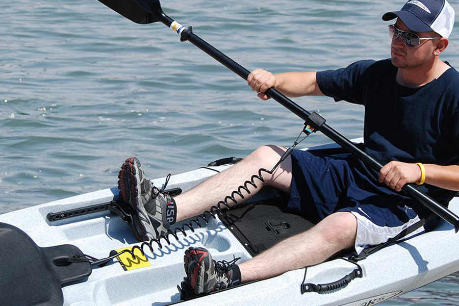 Kayaking Quant Rope Kayak Paddle Leash Dugout Canoe String Piragua Tie Up Leash