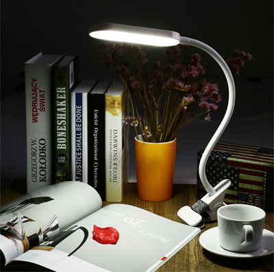 Clamp Lamp for Reading Books