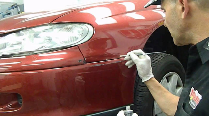 Red Car Scratch Repair Kits