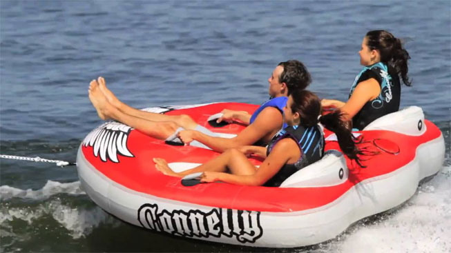 3 Person Towable Tubes Sailing