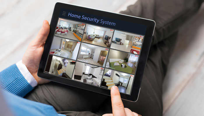 Home Security Camera Systems Phone App