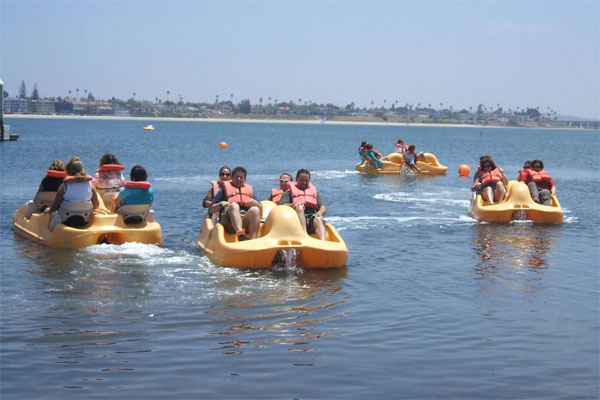 Pedal Boats at Lake