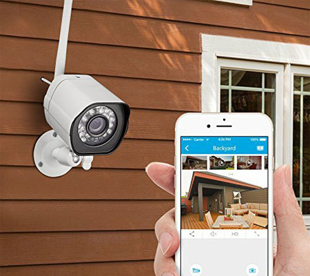 Phoneapp Wireless Outdoor Security Camera Systems For Home